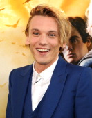 Actor Jamie Campbell Bower attends the premiere of 'The Mortal Instruments City Of Bones' at ArcLight Cinemas Cinerama Dome on August 12 2013 in...