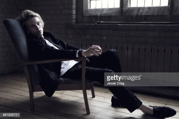 Actor Jamie Campbell Bower is photographed for SID magazine on June 20 2013 in London England