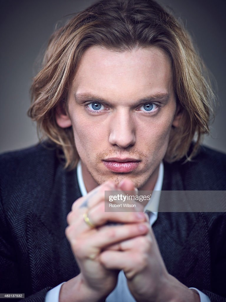 Actor <a gi-track='captionPersonalityLinkClicked' href=/galleries/search?phrase=Jamie+Campbell+Bower&family=editorial&specificpeople=4586724 ng-click='$event.stopPropagation()'>Jamie Campbell Bower</a> is photographed for the Times on March 13, 2015 in London, England.