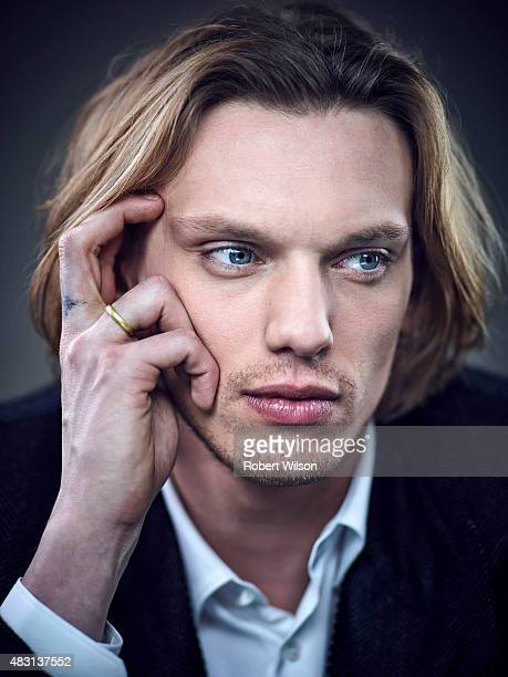 Actor Jamie Campbell Bower is photographed for the Times on March 13 2015 in London England