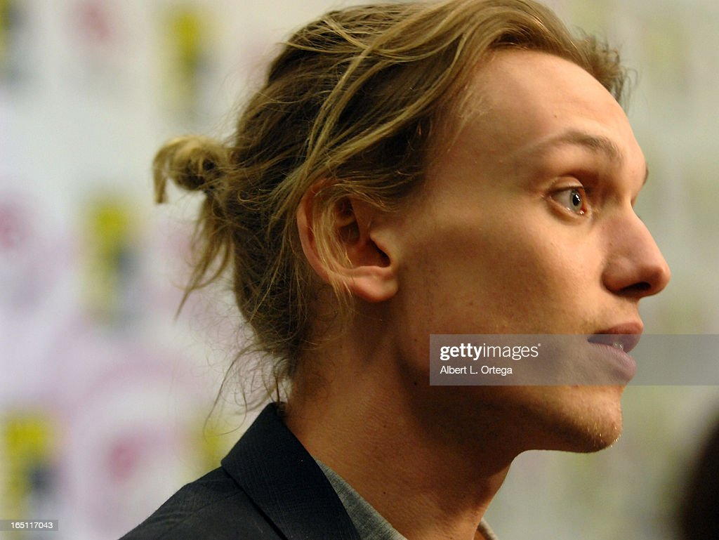 Actor Jamie Campbell Bower participates at WonderCon Anaheim 2013 - Day 2 at Anaheim Convention Center on March 30, 2013 in Anaheim, California.