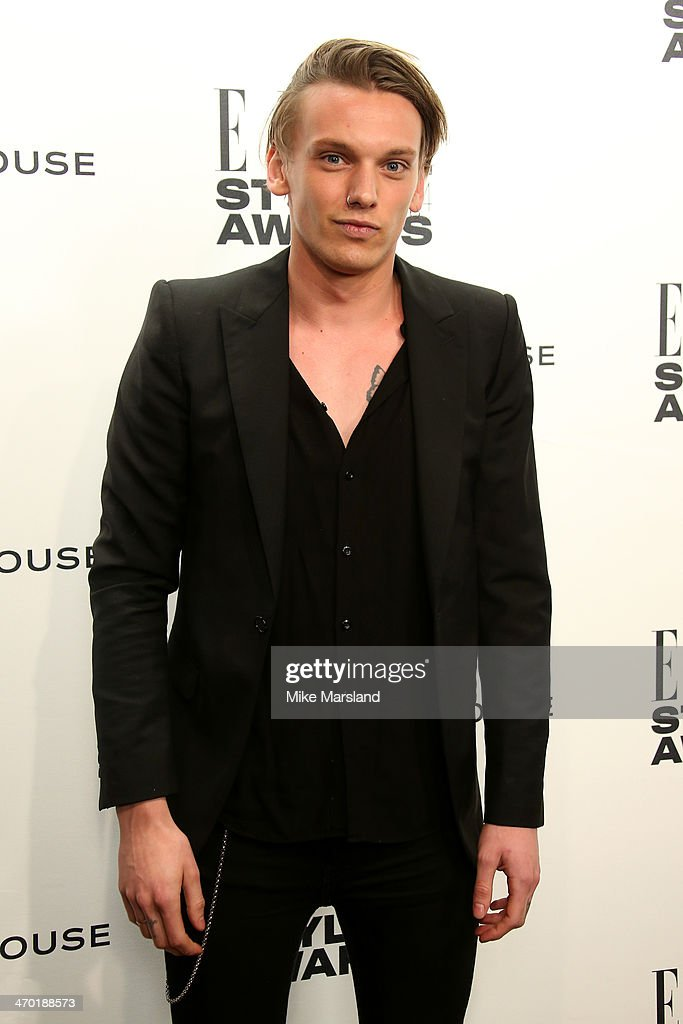 Actor Jamie Campbell-Bower attends the Elle Style Awards 2014 at one Embankment on February 18, 2014 in London, England.