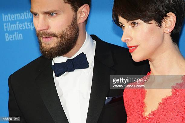 Actor Jamie Dornan and wife Amelia Warner attend the 'Fifty Shades of Grey' premiere during the 65th Berlinale International Film Festival at Zoo...