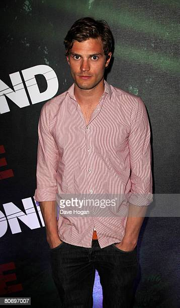 Actor Jamie Dornan arrives at the launch party for film 'Beyond The Rave' at Shoreditch House on April 16 2008 in London England The film is the...