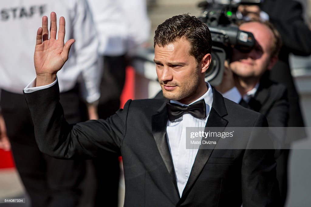 Actor Jamie Dornan arrives at the opening ceremony of the 51st Karlovy Vary International Film Festival (KVIFF) on July 1, 2016 in Karlovy Vary, Czech Republic.