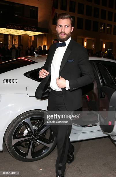 Actor Jamie Dornan at the AUDI arrivals at the 'Fifty Shades of Grey' Premiere during The 65th Berlinale International Film Festival at Zoo Palast on...