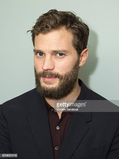 Actor Jamie Dornan attends SAGAFTRA Foundation's Conversations with 'The Fall' at SAG Foundation Actors Center on November 2 2016 in Los Angeles...