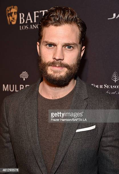 Actor Jamie Dornan attends the BAFTA Los Angeles Tea Party at The Four Seasons Hotel Los Angeles At Beverly Hills on January 10 2015 in Beverly Hills...