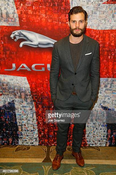 Actor Jamie Dornan attends the BAFTA Los Angeles TV Tea Party presented By Jaguar and Mulberry at The Four Seasons Hotel on January 10 2015 in Los...
