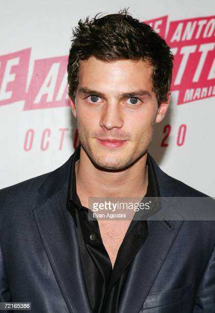 Actor Jamie Dornan attends The New York Film Festival screening after party for 'Marie Antoinette' at The Museum of Modern Art October 13 2006 in New...