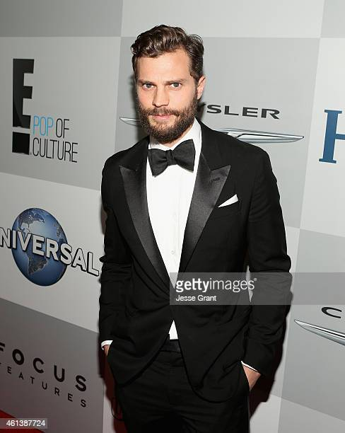 Actor Jamie Dornan attends Universal NBC Focus Features and E Entertainment 2015 Golden Globe Awards After Party sponsored by Chrysler and Hilton at...