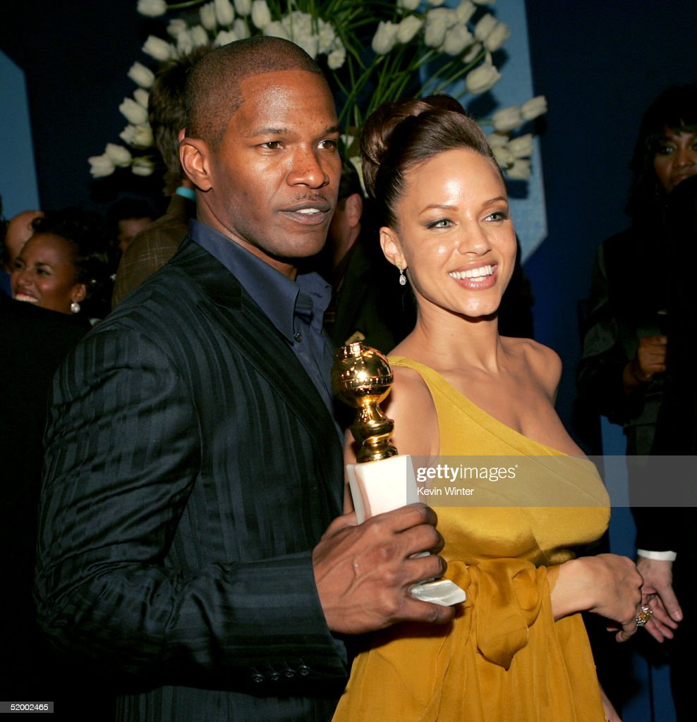 Jamie Foxx with Single Leila Arcieri