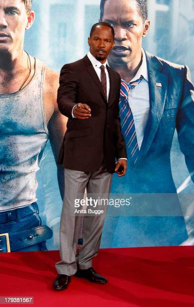 Actor Jamie Foxx attends at 'White House Down' Germany premiere at CineStar on September 2 2013 in Berlin Germany