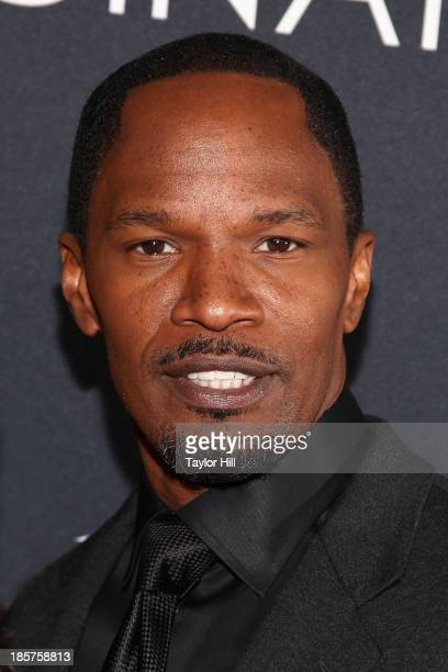 Actor Jamie Foxx attends Canon's 'Project Imaginat10n' Film Festival opening night at Alice Tully Hall at Lincoln Center on October 24 2013 in New...