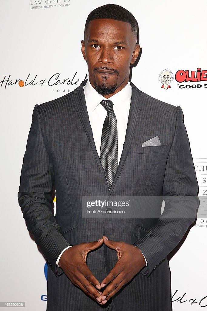 Actor <a gi-track='captionPersonalityLinkClicked' href=/galleries/search?phrase=Jamie+Foxx&family=editorial&specificpeople=201715 ng-click='$event.stopPropagation()'>Jamie Foxx</a> attends the 14th Annual Harold & Carole Pump Foundation Gala at the Hyatt Regency Century Plaza on August 8, 2014 in Century City, California.