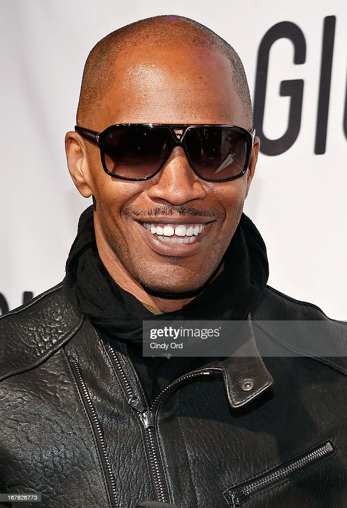 Actor <a gi-track='captionPersonalityLinkClicked' href=/galleries/search?phrase=Jamie+Foxx&family=editorial&specificpeople=201715 ng-click='$event.stopPropagation()'>Jamie Foxx</a> attends the Gig-It Launch Party at Capitale Bowery on April 30, 2013 in New York City.