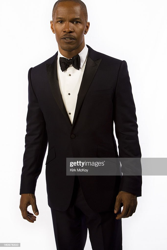 Actor <a gi-track='captionPersonalityLinkClicked' href=/galleries/search?phrase=Jamie+Foxx&family=editorial&specificpeople=201715 ng-click='$event.stopPropagation()'>Jamie Foxx</a> is photographed at the NAACP Image Awards for Los Angeles Times on February 1, 2013 in Los Angeles, California. PUBLISHED IMAGE.