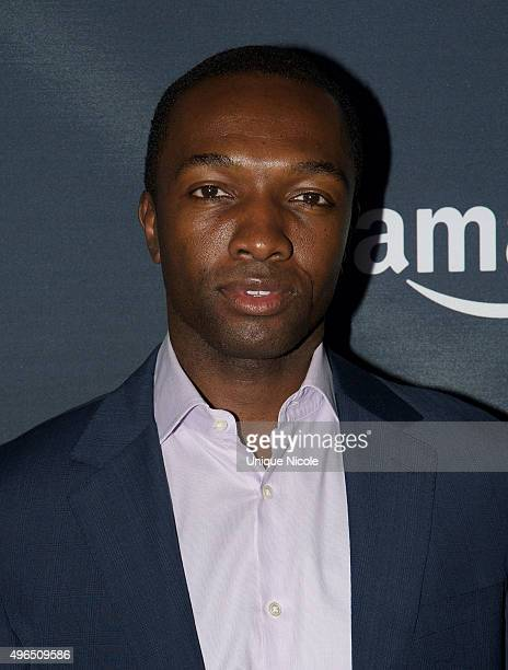 Actor Jamie Hector arrives to the premiere of Amazon's 'Transparent' Season 2 at SilverScreen Theater at the Pacific Design Center on November 9 2015...