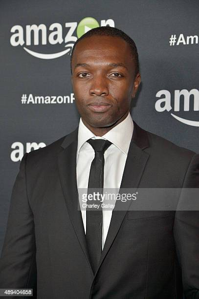 Actor Jamie Hector attends Amazon Prime's Emmy Celebration at The Standard Hotel on September 20 2015 in Los Angeles California