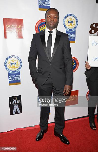 Actor Jamie Hector attends the 24th Annual NAACP Theatre Awards at Saban Theatre on November 17 2014 in Beverly Hills California