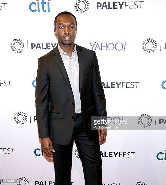 Actor Jamie Hector attends the 2nd Annual Paleyfest New York Presents 'The Wire Reunion' at Paley Center For Media on October 16 2014 in New York New...
