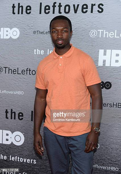 Actor Jamie Hector attends 'The Leftovers' premiere at NYU Skirball Center on June 23 2014 in New York City