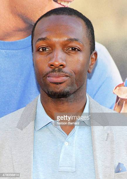 Actor Jamie Hector attends the New York Premiere of 'Ted 2' at the Ziegfeld Theater on June 24 2015 in New York City