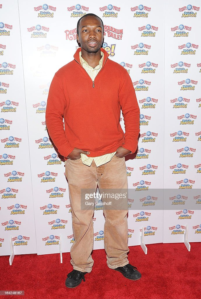Actor Jamie Hector attends the Ringling Bros. and Barnum & Bailey 'Build To Amaze!' Opening Night at Barclays Center on March 21, 2013 in the Brooklyn borough of New York City.
