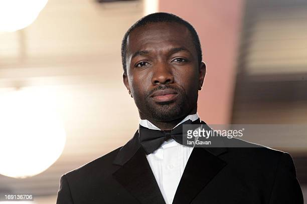 Actor Jamie Hector depart the 'Blood Ties' Premiere during the 66th Annual Cannes Film Festival at the Palais des Festivals on May 20 2013 in Cannes...
