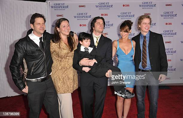 Actor Jamie Kennedy actress Camryn Manheim actor Connor Gibbs actor David Conrad actress Jennifer Love Hewitt and actor Chritoph Sanders arrive to...