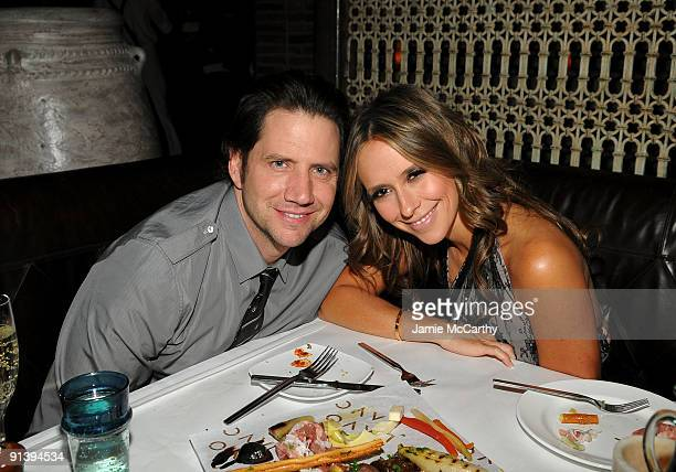 LAS VEGAS OCTOBER 03 Actor Jamie Kennedy and actress Jennifer Love Hewitt attend the TAO and LAVO anniversary weekend at LAVO in the Palazzo hotel on...