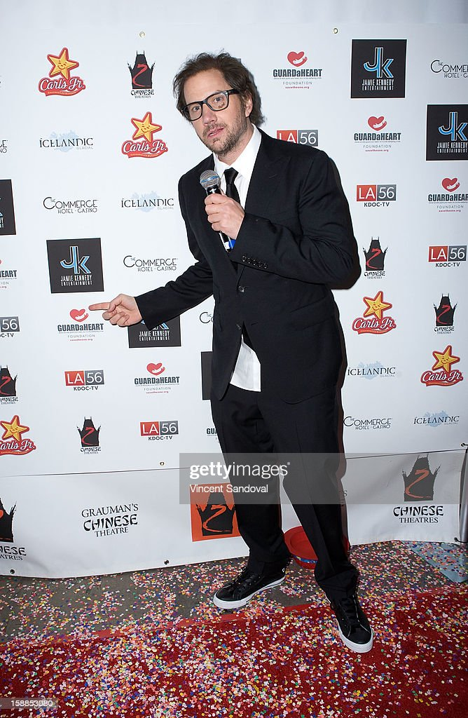 Actor Jamie Kennedy attends the 'First Night 2013' New Year's Eve Party hosted by Jamie Kennnedy at Grauman's Chinese Theatre on December 31, 2012 in Hollywood, California.