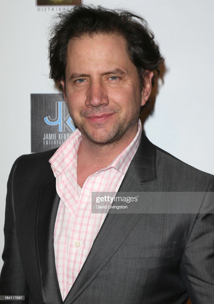 Actor Jamie Kennedy attends the premiere of 'A Resurrection' at ArcLight Sherman Oaks on March 19, 2013 in Sherman Oaks, California.
