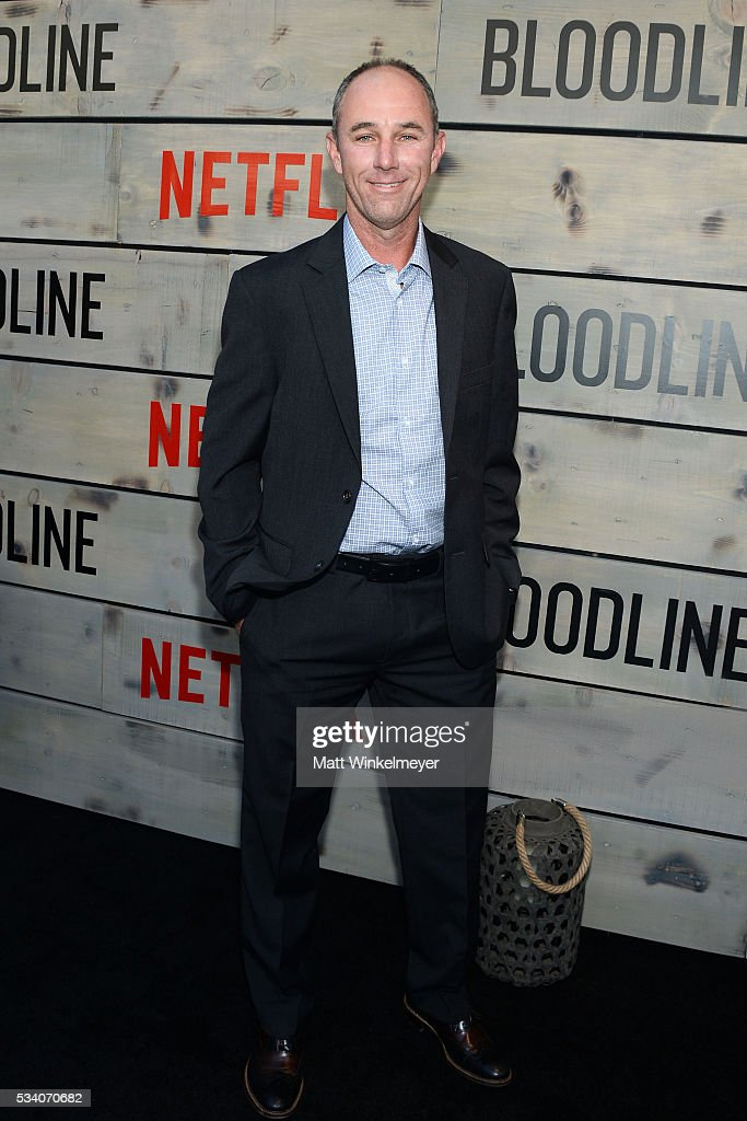 Actor Jamie McShane attends the Premiere of Netflix's 'Bloodline' at Westwood Village Theatre on May 24, 2016 in Westwood, California.