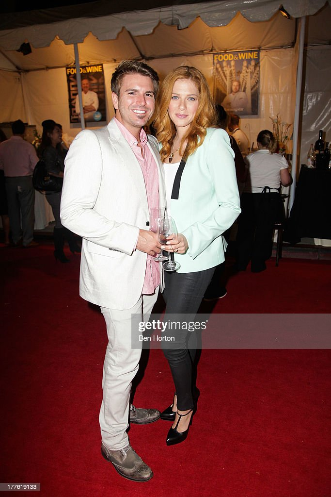 Actor Jamie Thomas King and actress <a gi-track='captionPersonalityLinkClicked' href=/galleries/search?phrase=Rachelle+Lefevre&family=editorial&specificpeople=2538883 ng-click='$event.stopPropagation()'>Rachelle Lefevre</a> attends LEXUS Live on Grand hosted by Curtis Stone at the third annual Los Angeles Food & Wine Festival on August 24, 2013 in Los Angeles, California.