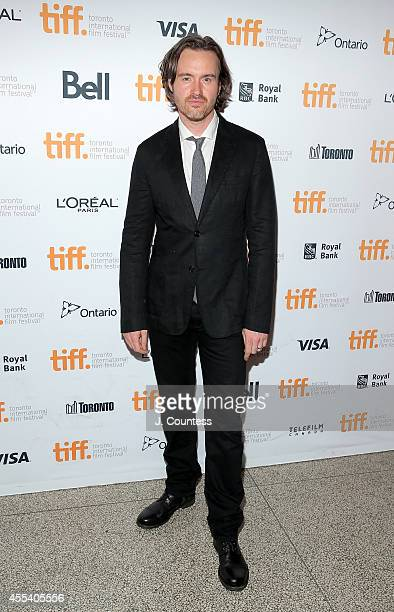 Actor Jamie Thomas King Bailey attends the 'Mr Turner' Premiere during 2014 Toronto International Film Festival at The Elgin on September 8 2014 in...