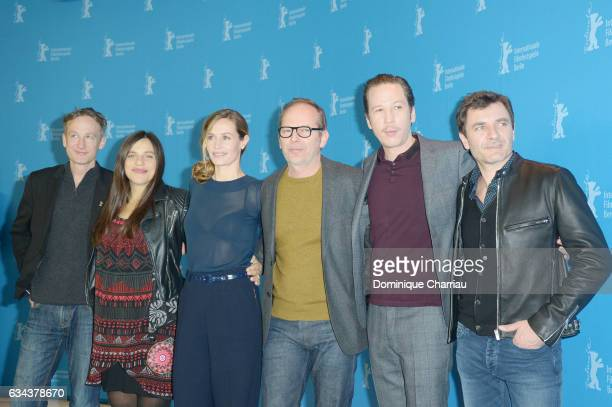 Actor Jan Henrik Stahlberg actress Bea Palya actress Cécile de France director Etienne Comar actor Reda Kateb and actor Alex Brendemuhl attend the...