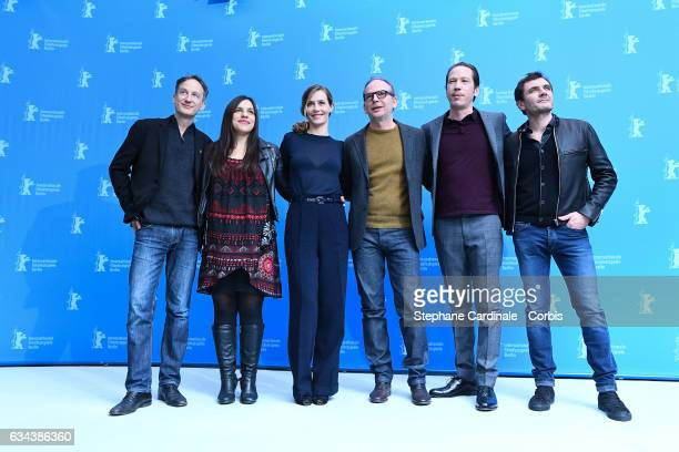 Actor Jan Henrik Stahlberg actress Bea Palya actress Cecile de France director Etienne Comar actor Reda Kateb and actor Alex Brendemuhl attend the...