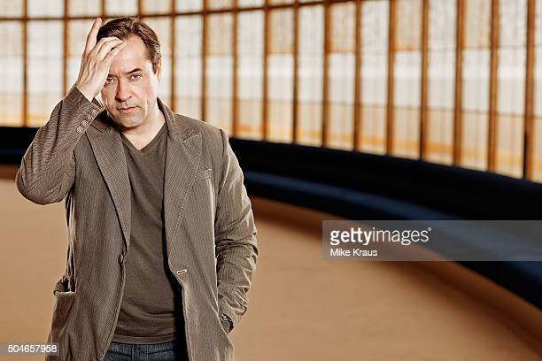 Actor Jan Josef Liefers is photographed for Self Assignment on March 15 2012 in Berlin Germany