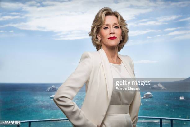 Actor Jane Fonda is photographed for the Hollywood Reporter in Cannes France