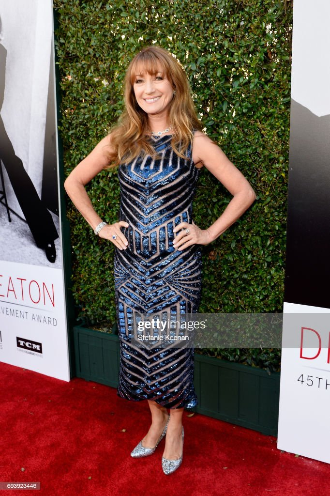 Actor Jane Seymour arrives at American Film Institute's 45th Life Achievement Award Gala Tribute to Diane Keaton at Dolby Theatre on June 8, 2017 in Hollywood, California. 26658_004