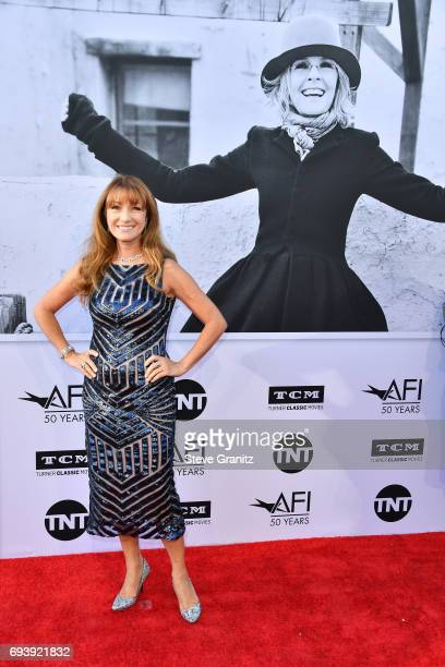 Actor Jane Seymour arrives at the AFI Life Achievement Award Gala Tribute to Diane Keaton at Dolby Theatre on June 8 2017 in Hollywood California