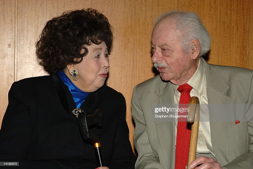 Actor Jane Withers and producer Hal Kanter attend a celebration of comedic icon W. C. Fields at the Academy of Motion Picture Arts and Sciences on May 11, 2007 in Beverly Hills, California.