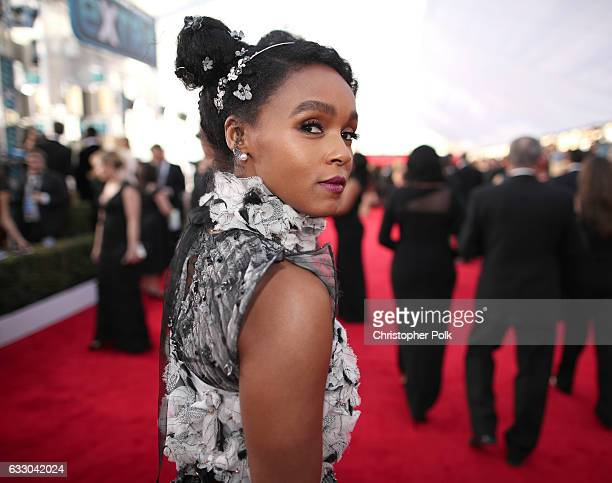 Actor Janelle Monae attends The 23rd Annual Screen Actors Guild Awards at The Shrine Auditorium on January 29 2017 in Los Angeles California 26592_012