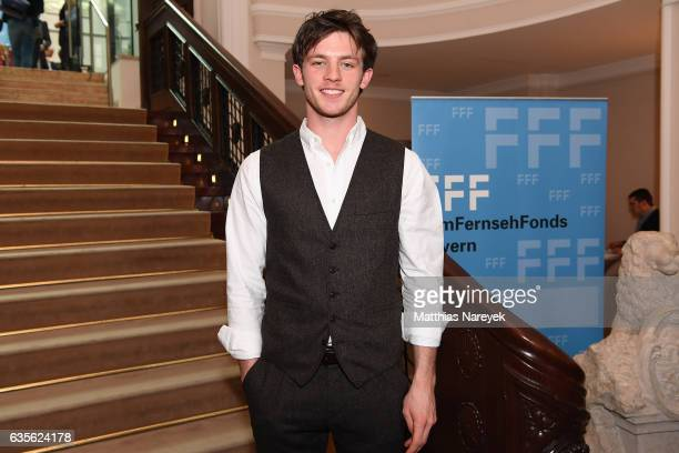 Actor Jannis Niewoehner attends the FFF Reception 2017 during the 67th Berlinale International Film Festival on February 16 2017 in Berlin Germany