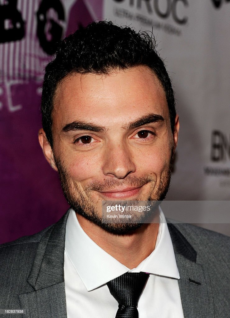 Actor Jared Carter arrives at the screening of XLrator Media's 'CBGB' at the Arclight Theatre on October 1, 2013 in Los Angeles, California.
