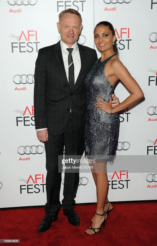 Actor <a gi-track='captionPersonalityLinkClicked' href=/galleries/search?phrase=Jared+Harris&family=editorial&specificpeople=228170 ng-click='$event.stopPropagation()'>Jared Harris</a> (L) arrives at the 'Lincoln' premiere during AFI Fest 2012 presented by Audi at Grauman's Chinese Theatre on November 8, 2012 in Hollywood, California.