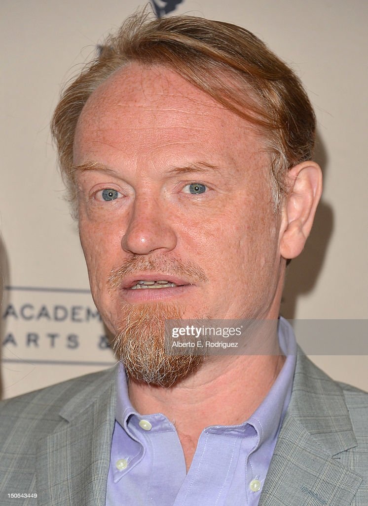 Actor Jared Harris arrives to the Academy of Television Arts & Sciences' Performers Peer Group Cocktail Reception at the Sheraton Hotel on August 20, 2012 in Universal City, California.