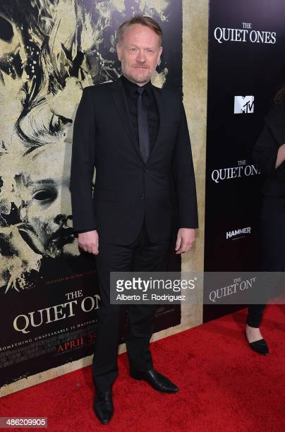 Actor Jared Harris arrives to the Los Angeles Premiere of Lionsgate Films' 'The Quiet Ones' at The Theatre At Ace Hotel on April 22 2014 in Los...