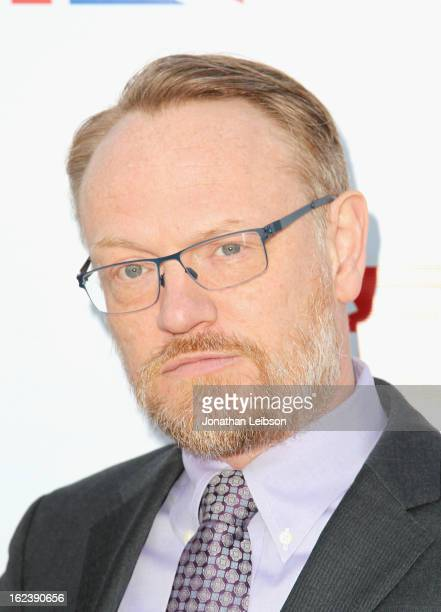 Actor Jared Harris attends the GREAT British Film Reception at British Consul General's Residence on February 22 2013 in Los Angeles California